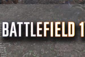 Battlefield 1 Konsolenbefehle