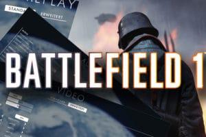 Die optimalen Einstellungen für Battlefield 1