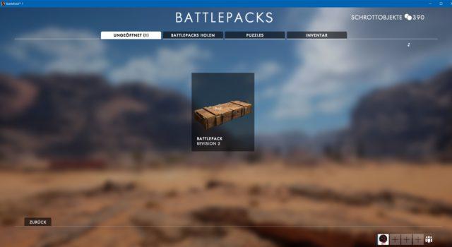 Revision 2 der Battlefield 1 Battlepacks ist verfügbar.