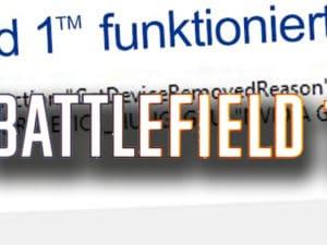 Battlefield 1 funktioniert nicht mehr