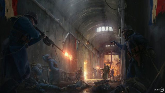 Battlefield 1 - They Shall not Pass soll im März 2017 veröffentlicht werden.