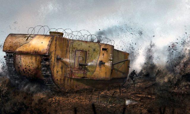 """Der K-Wagen könnten in Battlefield 1 mit der Erweiterung """"They Shall Not Pass"""" als Behemoth kommen."""