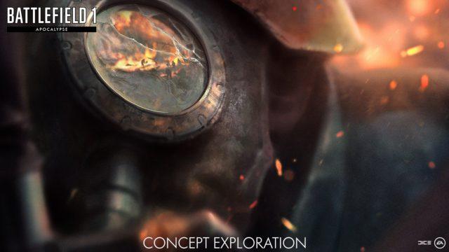"""Concept Art der Battlefield 1 Erweiterung """"Apocalypse"""""""