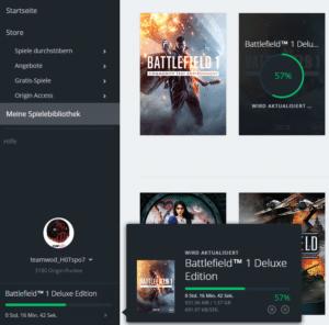 Der Winter Patch für Battlefield 1 ist knapp 1,6 Gigabyte groß