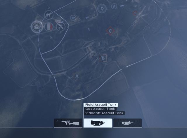 Den Assault Tank gibt es in drei unterschiedlichen Versionen. Eine davon kann einen Artilleriebeschuss anfordern.