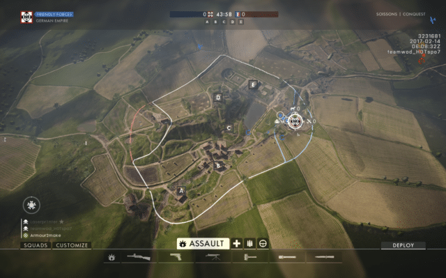 Battlefield 1 Map Overview: Soissons