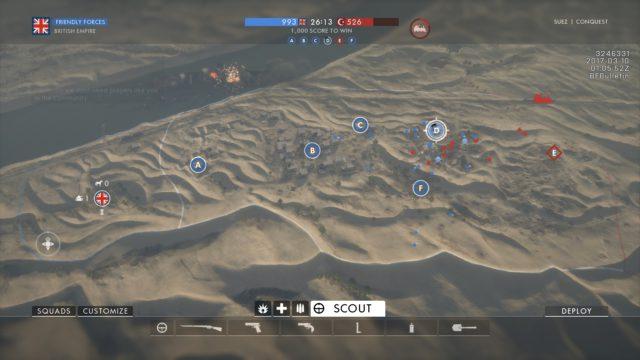 Battlefield 1 - Das neue Layout von Suez, dass derzeit im CTE getestet werden kann.