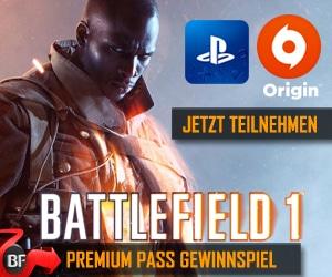 Battlefield 1 Premium Pass Gewinnspiel