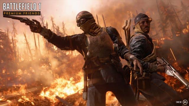 """Dank des """"Premium-Friends"""" Features können Spieler nun auch ohne Battlefield 1 Premium Pass die DLC Inhalte zeitlich unbegrenzt spielen."""