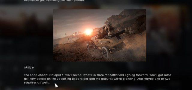 """Am Donnerstag will DICE die Battlefield 1 Community mit weiteren Infos über die Inhalte des DLC """"In The Name Of The Tsar"""" informieren. Außerdem will DICE über die kommenden Features und über bisher noch geheime Dinge sprechen."""