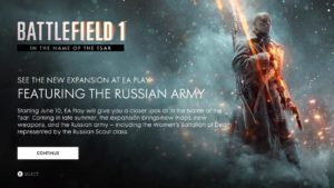Battlefield 1: Women´s Battalion of Death