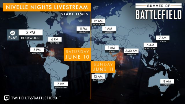Nivelle Nights - Livestream