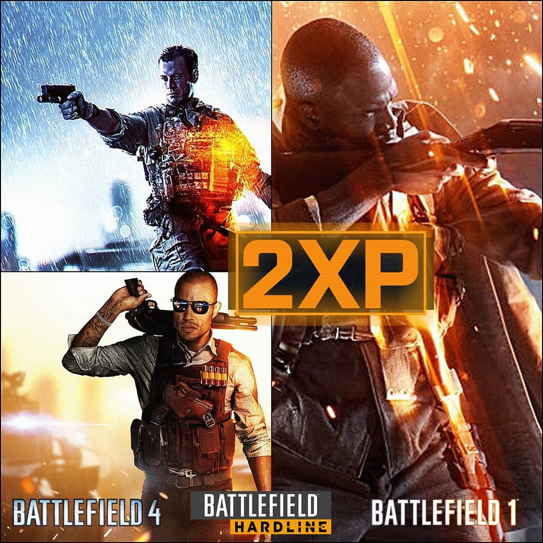 Battlefield4-Battlefield1-bfhardline-Double-XP-event