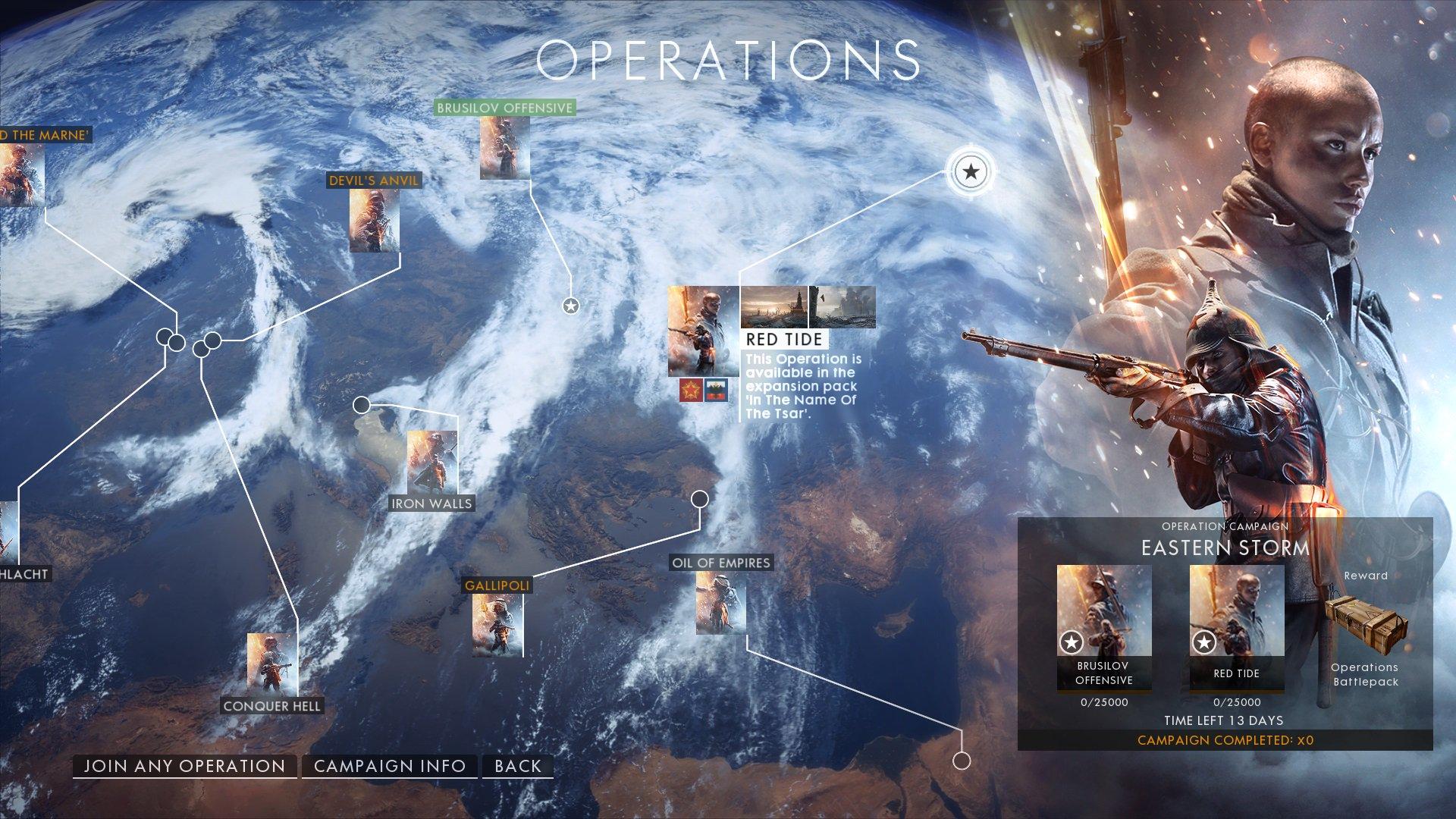 Battlefield 1 Kalender