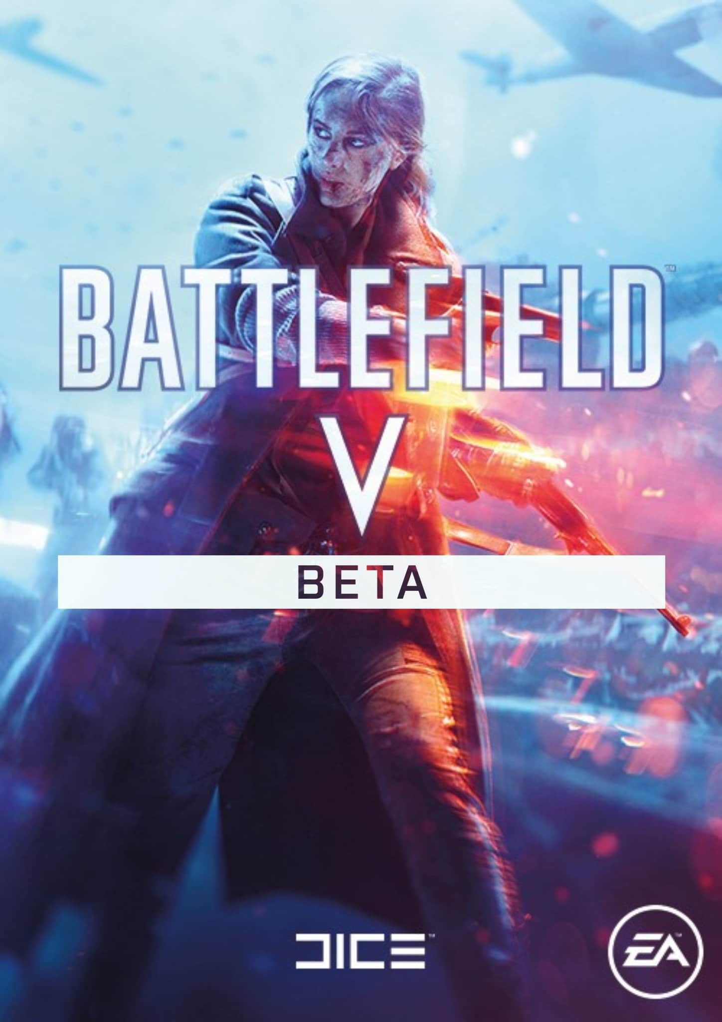 battlefield v beta cover