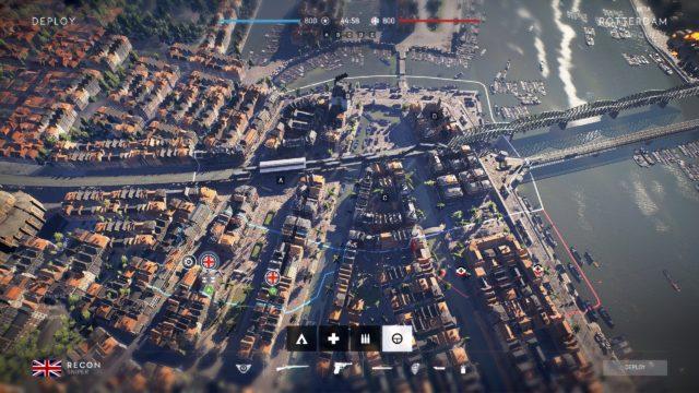 Battlefield V - Map Overview - Rotterdam