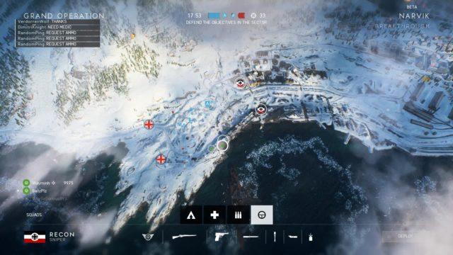 Breakthrough auf der Map Narvik
