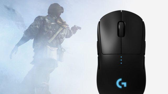 Logitech G PRO Kabellose Gaming-Maus mit Hero-Sensor