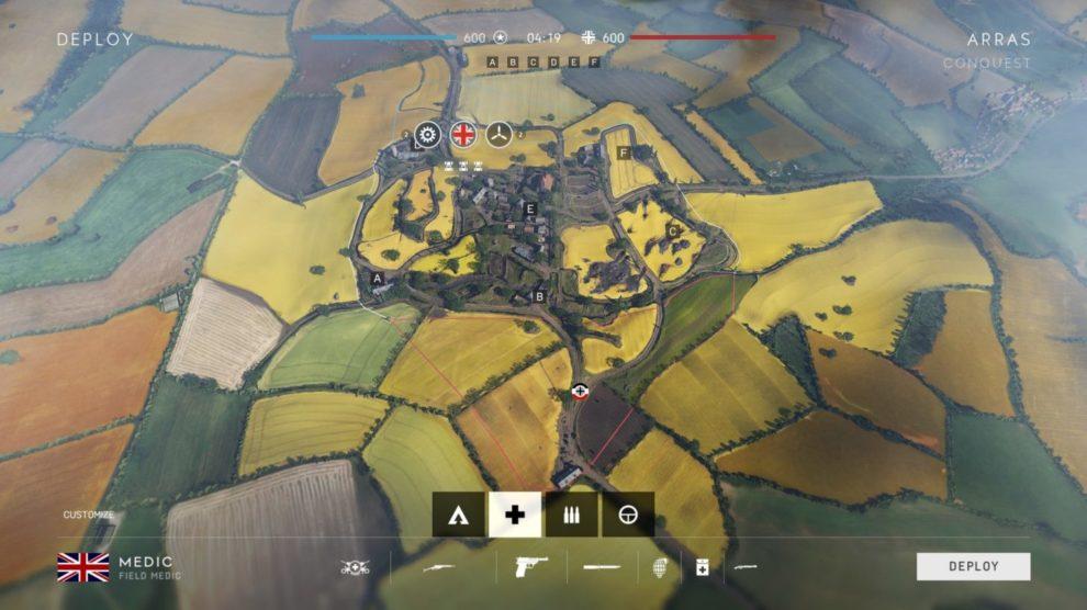 BATTLEFIELD V ARRAS MAP OVERVIEW