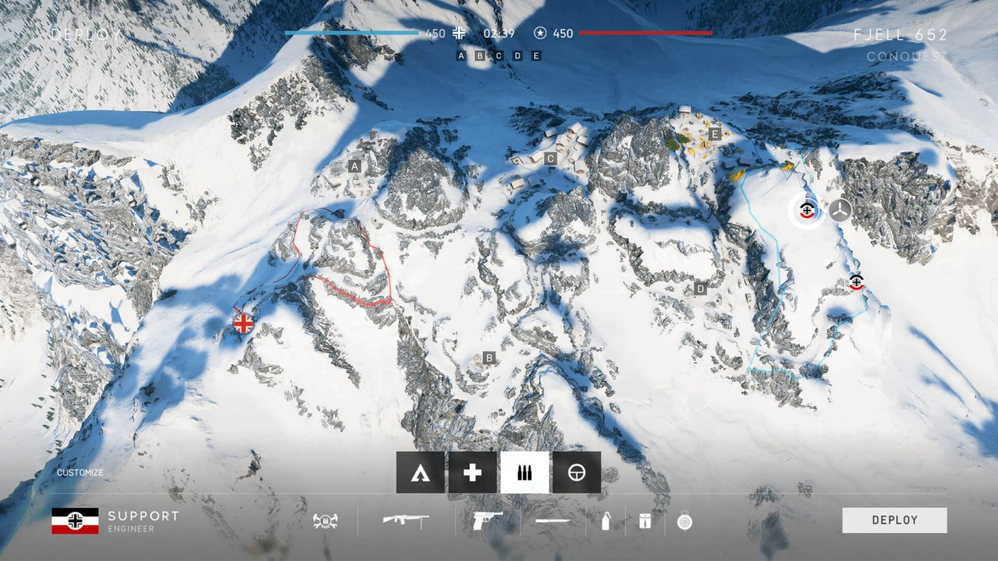 BATTLEFIELD V FJELL 652 MAP OVERVIEW