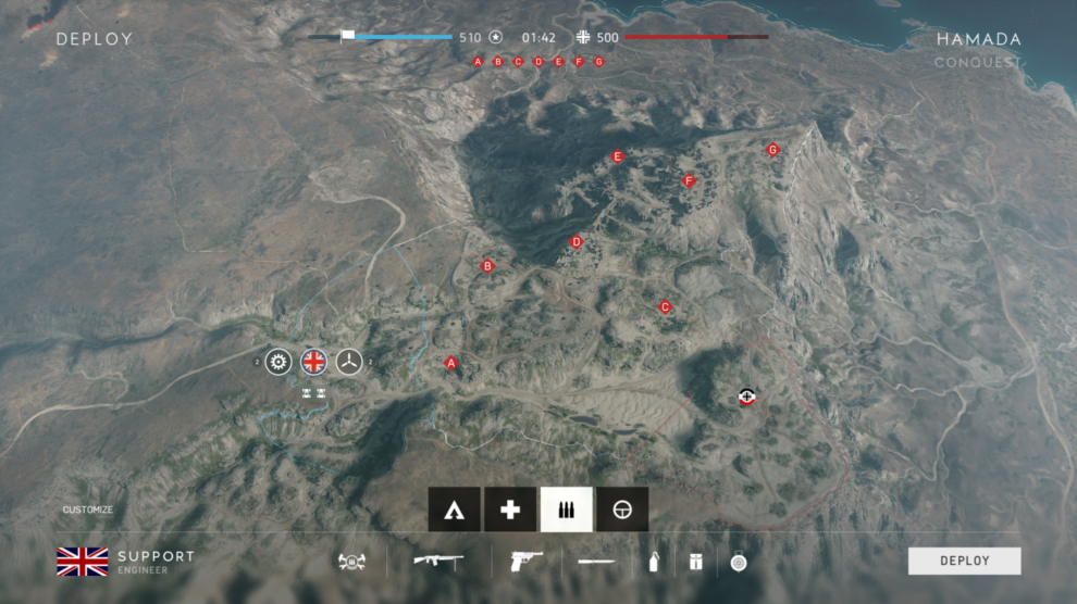 BATTLEFIELD V HAMADA MAP OVERVIEW