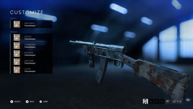 Sturmgewehr Peacekeeper