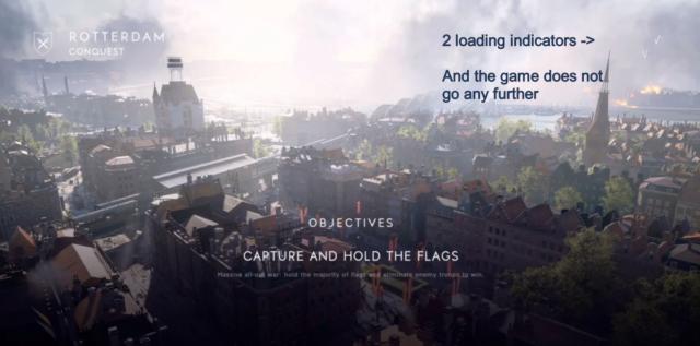 Battlefield V - Infinite Loadscreen (Zwei Ladesymbole)