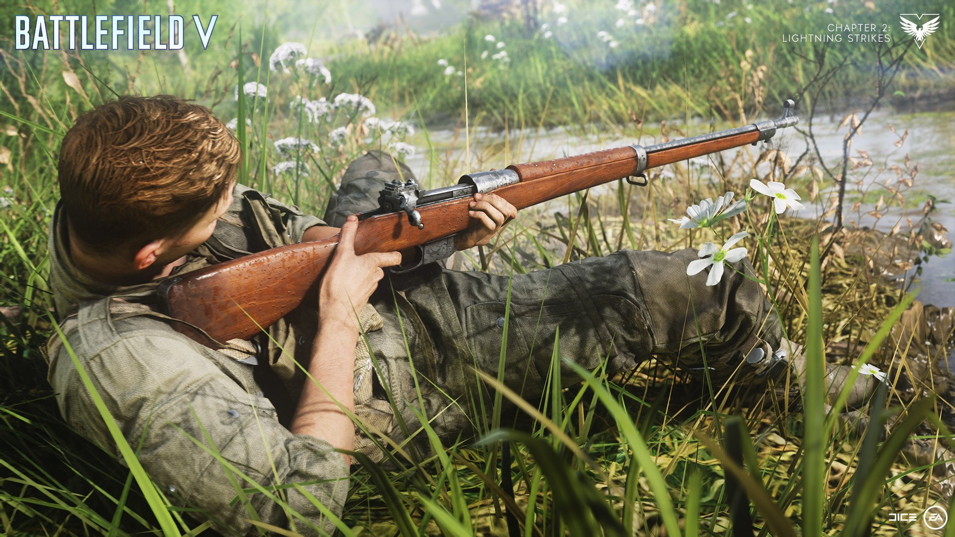 battlefield v Mk III bolt-action rifle