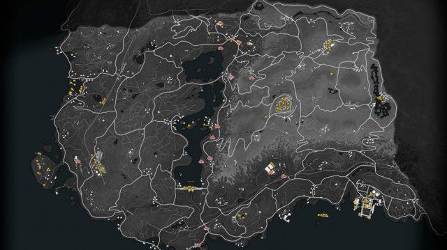 Battlefield V - Firestorm (Loot Map)