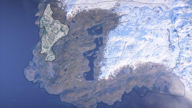 Halvøy ist 10-Fach größer als Hamada