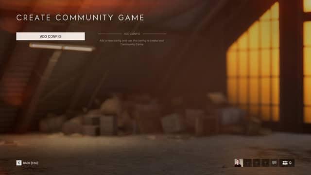 Die Community Games werden Anfang Dezember zur Verfügung stehen.