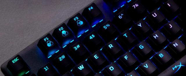 Hochwertige Keycaps machen Spaß beim anfassen!