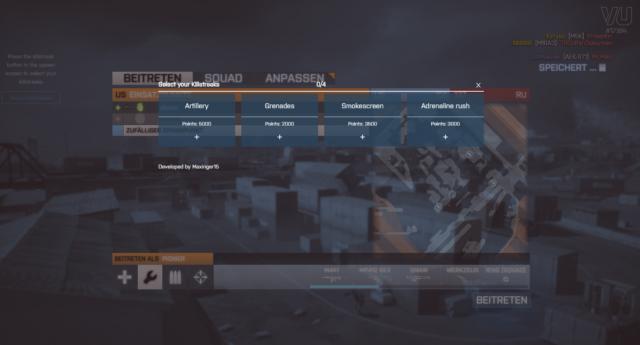 Killstreaks in Battlefield 3 VU
